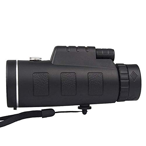 Telescopio monocular 40x60 zoom alta definición monocular telescopio con trípode cámara clip para teléfono móvil para observación de aves camping viajes