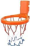 Xiegons0 Basketball Reifen Set Kleinkind für Baby Sicher ABS Mini Badespielzeug Badewanne Innen Wandhalterung Lustig Spiel Suctions Becher Geschenk