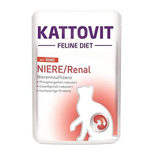 Kattovit PB Feline Diet Niere/Renal mit Rind 85g (Menge: 24 je Bestelleinheit)