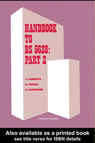 Handbook to BS 5628: Part 2: Structural use of reinforced and prestressed masonry (English Edition)