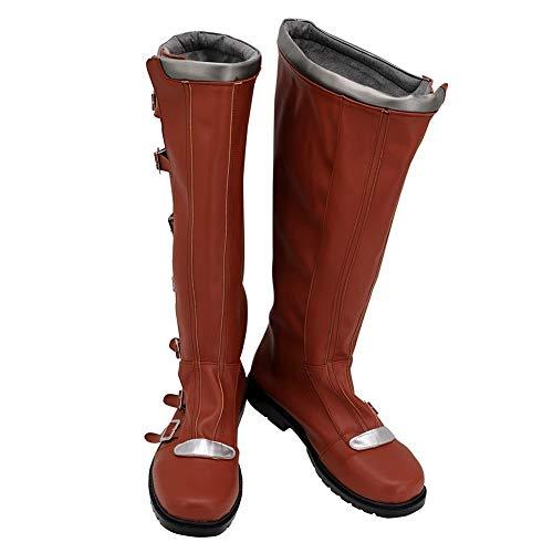 Battlestar Galactica Cosplay botas zapatos cuero Pu Halloween carnaval fiesta Cosplay disfraz accesorios Prop 42 hombre