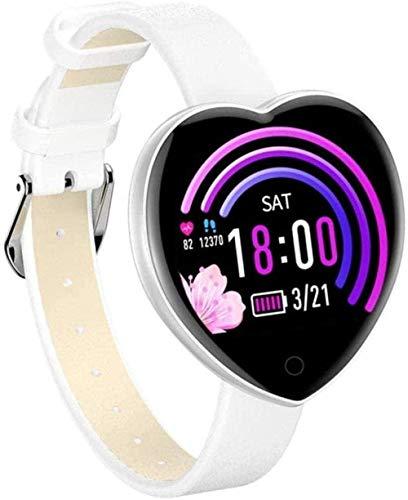 Relojes inteligentes Mujer Presión Arterial Oxígeno Banda Inteligente Recordatorio de Llamada Impermeable para iOS Android Smartwatch Fashion-C-A-B