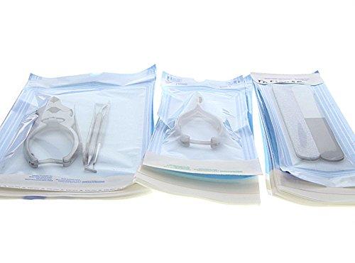 200x Sterilisationsbeutel 6 x 10 cm mit SK Verschluß Sterilisier-Beutel, Steribeutel für Autoklaven, selbst-klebend, 6x10 cm