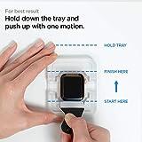 Spigen ProFlex EZ Fit Screen Protector for Apple Watch Series 6 44mm and Apple Watch SE 44mm - 2 Pack