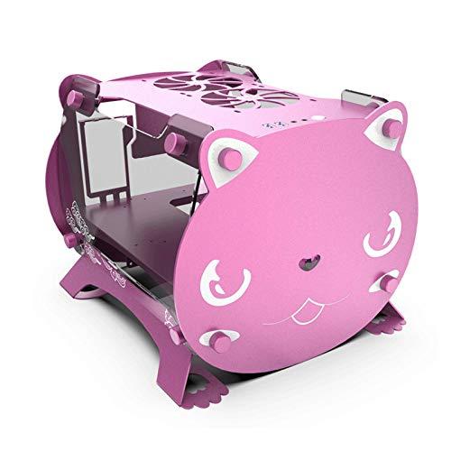 Host-Erweiterung Chassis Slot Equipment Server Chassis Wassergekühlte Equipment-Grafikkarte Vertikal abnehmbar DIY Split Wassergekühltes luftgekühltes Pink
