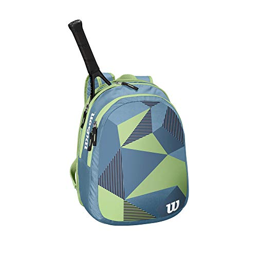 Wilson Junior Tennis Backpack - Blue/Green
