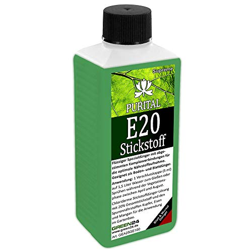 GREEN24 Purital E20 Supreme Stickstoffdünger HIGH-TECH Stickstoff Flüssig Dünger