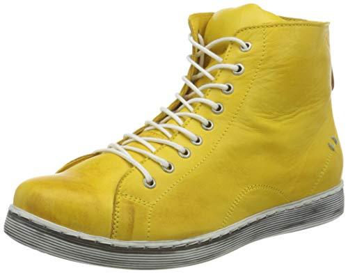 Andrea Conti Damen 0341500 Sneaker, gelb, 39 EU