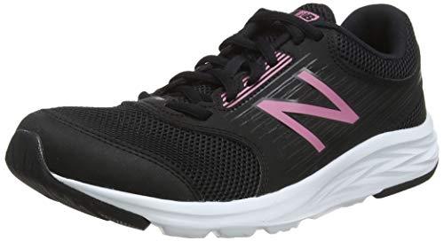 New Balance Damen 411 Laufschuhe, Schwarz (Black Pink), 43 EU