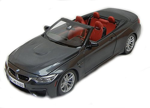 BMW Modellauto 1:18 M4 Cabrio F83 grau metallic