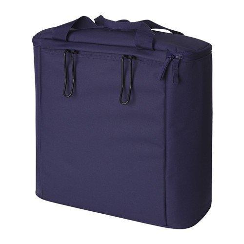 IKEA SOMMAR 2017 Fahrradtasche in dunkelblau; für hinten; (40cm)