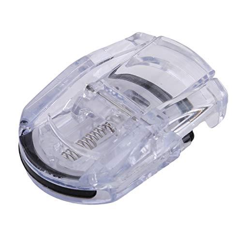 EJY Mini Recourbe-cils Curleur local Pince à cils Outil Cosmétique pour la Beauté des Yeux (Couleur transparente)