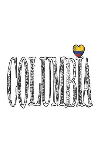 Colombia amor: Din A5 regalo portátil British Colombia con 120 páginas
