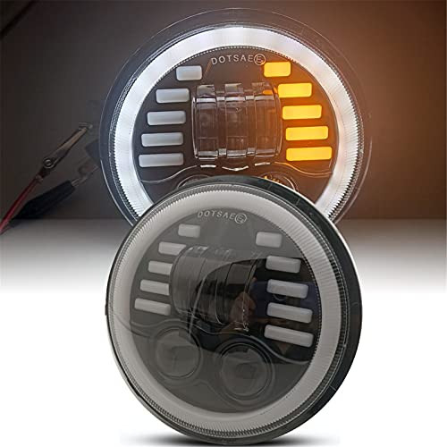 DOT Señal De Giro Halo 5,75 5 3/4 LED Faro Hi Low...