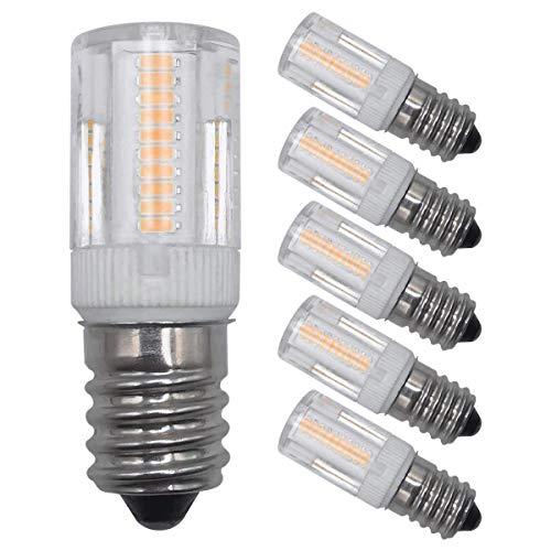 E14 LED Glühbirnen Home Dekorative Beleuchtung 2W Dimmbar Warmweiß 2700K SES Small Edison Candelabra Schraubsockel 20W Äquivalent Energiesparende LED Glühbirnen 5er Pack [MEHRWEG]