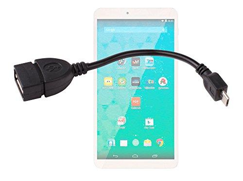 DURAGADGET Adaptateur OTG Prise USB à Micro USB pour QILIVE Tablette Tactile 7 Pouces Kids pour Enfants