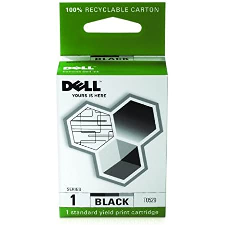 Dell Computer T0529 1 Standard Capacity Black Ink Cartridge for A920/720