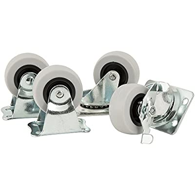 All-in-One Caster Pack - 2 inch TPR Casters