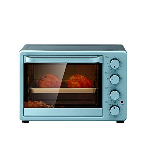 MLTYQ Multi-Function Automatic Oven, 25 Liters Large Capacity, Four-Rotation Button, Independent Temperature Control, Large Window, Uniform Baking