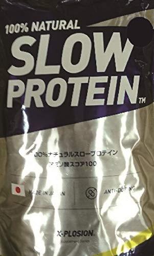 X-PLOSION - エクスプロージョン - 100%ナチュラル カゼイン スロープロテイン (2.5kg)【 プレーン味 】 計...