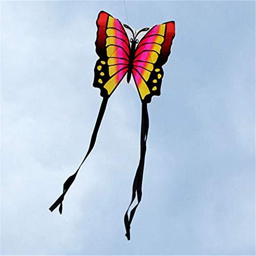 Flugdrachen Schmetterlings-Drachen Kinder Spielzeug Stadtrände Funny Game Easy Control Brid Eagle-Kite für Kinder und Erwachsene (Farbe : 2, Größe : Einheitsgröße)