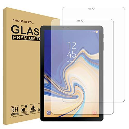 NEWZEROL [2 Stück Ersatz für Samsung Galaxy Tab S4 Panzerglas Schutzfolie,High Definition Anti-Kratzer Bildschirmschutz aus gehärtetem Folie
