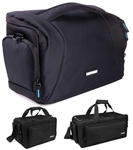 Fototasche für Spiegelreflexkameras Bodyguard Easy SLR XL groß Kameratasche Spiegelreflexkamera für Body und 3 Objektive, Camera Bag schwarz
