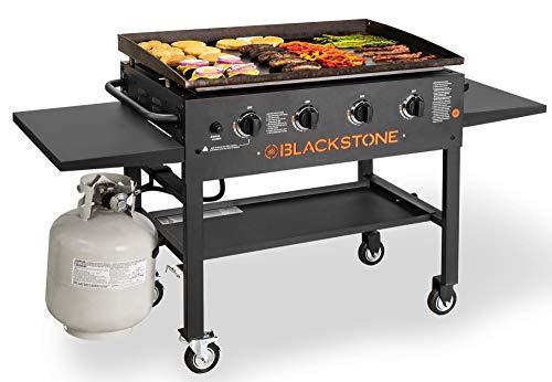 Blackstone 4-Burner 36' Griddle Cooking Station with Side Shelves