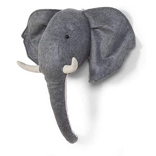 Childhome Filz Elefant–Kopf Tier, Unisex