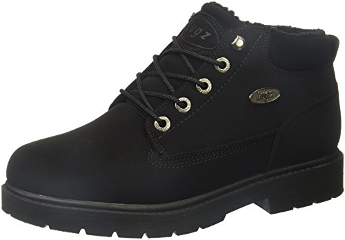 Lugz womens Drifter Fleece Lx Fashion Boot, Black Durabrush, 8.5 US