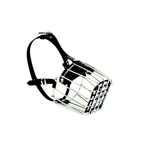 Dingo numéro 7 Muselière en métal pour Rottweiler