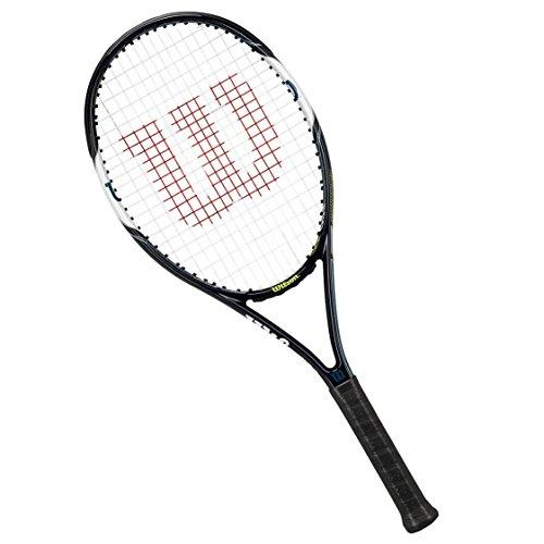 Wilson Raqueta de tenis unisex, Para juegos en todas las áreas, Para jugadores aficionados, Surge Power 108, Medida 1, Azul/Blanco