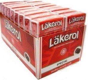 Lakerol Menthol-licorice Special - Pack de 24 unidades
