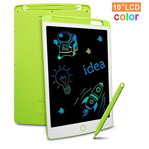 All-Purpose LCD Writing Tablet Drawing Board 10 Inch Colorful Screen Electronic Writing Doodle Pad for Note Memo Boy Girl Toy Gift