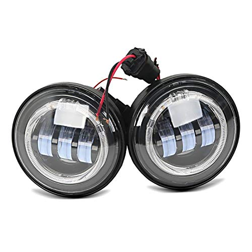 Fari Supplementari LED per Moto Guzzi Nevada 750 luci diurne nero