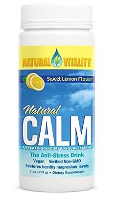 Natural Vitality Natural Calm Magnesium Anti Stress, Organic
