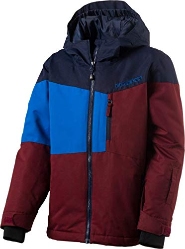 Firefly Kinder Snowboard - Ski Jacke Carter blau rot, Größe:140