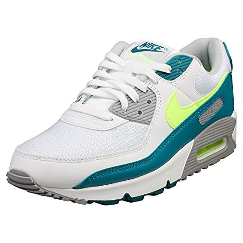 Nike Zapatillas deportivas para hombre, Blanco, 45 EU