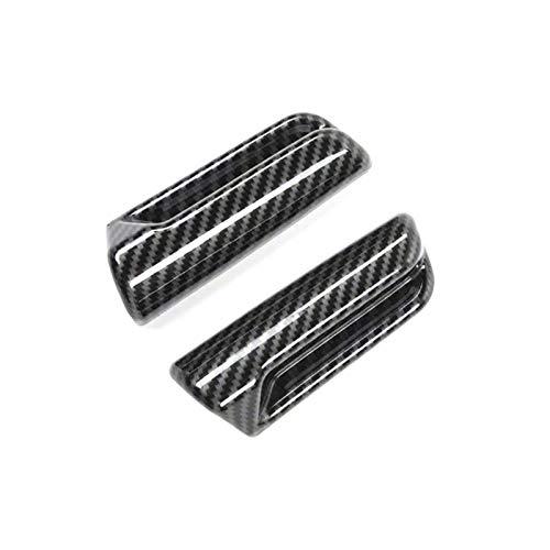 September Department Store Ajuste para Suzuki Jimny 2019 2020 Coche con asiento de fibra de carbono Ajuste Ajustado Interruptor Interruptor de la cubierta Cubierta de decoración Pegatina de ajuste Acc