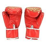 Omabeta Guantes De Taekwondo Ejercicio De Culturismo para Niños Juguetes para Niños Regalo Reducir El Estrés por Presión(Rojo, para niños)