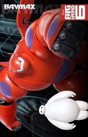 Big Hero 6 – US Movie Wall Poster Print – A4 Size Plakat Größe Baymax