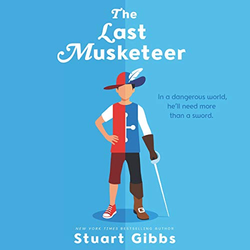 The Last Musketeer audiobook cover art