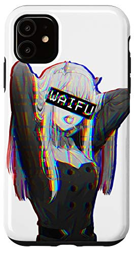 iPhone 11 Waifu Japanese Anime Girl Case
