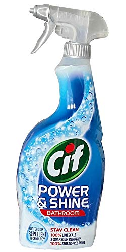 Cif Power und Shine - Espray para baño (6 x 700 ml,...