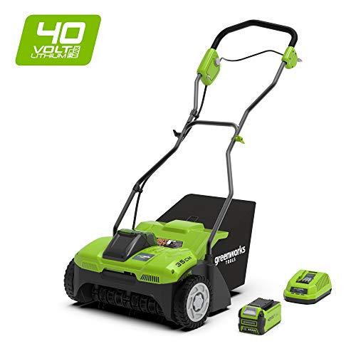Greenworks Tools 2504807UF Vertikutierer, grün