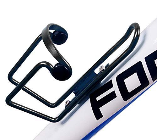 Exporee Porta borracce per Bicicletta, Lega di Alluminio Portabottiglie Regolabile per Bici da Acqua Portabottiglie Leggero Portabottiglie Supporto per Bici da MTB