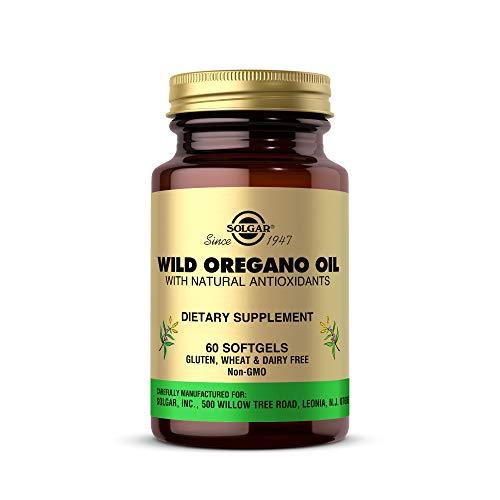 Solgar Wildes Oregano mit natürlichen Antioxidantien 60 Weichkapseln