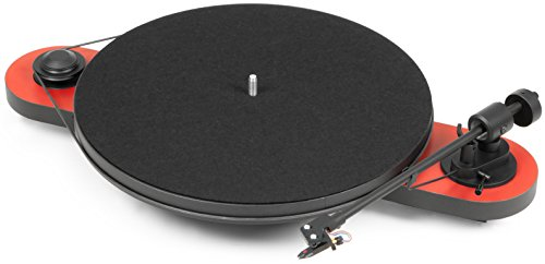 Pro-Ject Elemental Turntable (Red)