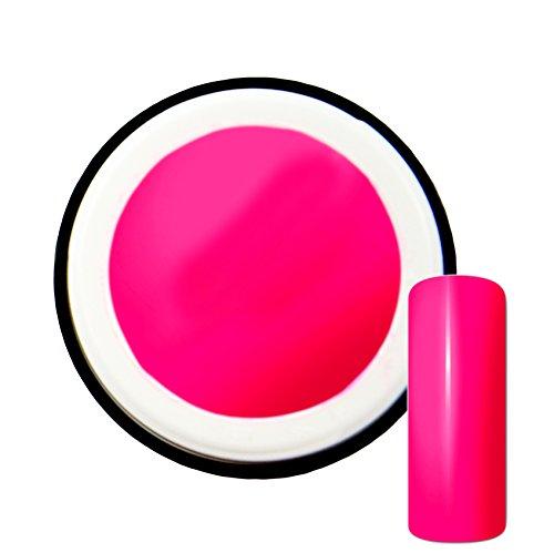 Gel UV couleur fluo New Pink #2 - 5 ml - Fabriqué en Allemagne