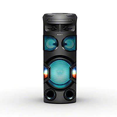 Sony MHC-V72D, High Power Party Speaker. One Box Music System with 360? Lighting by Sony